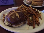 Mushroom & Swiss no burger at Whiskey Business
