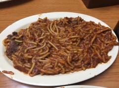 BBQ Spaghetti!